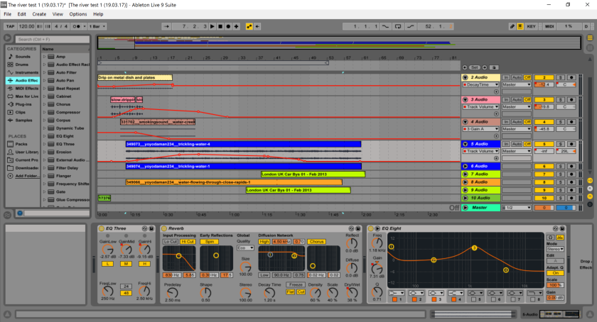 ableton river one test